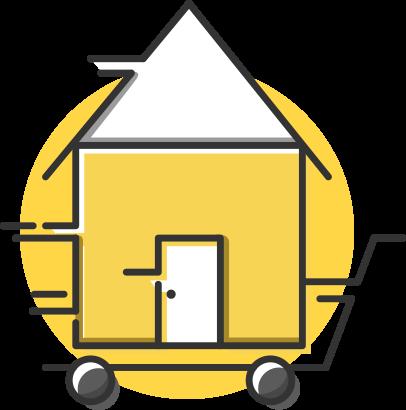 Ícone: Mudanças Residênciais